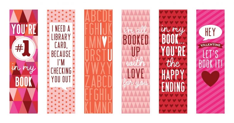Bookmark Template with Quotes