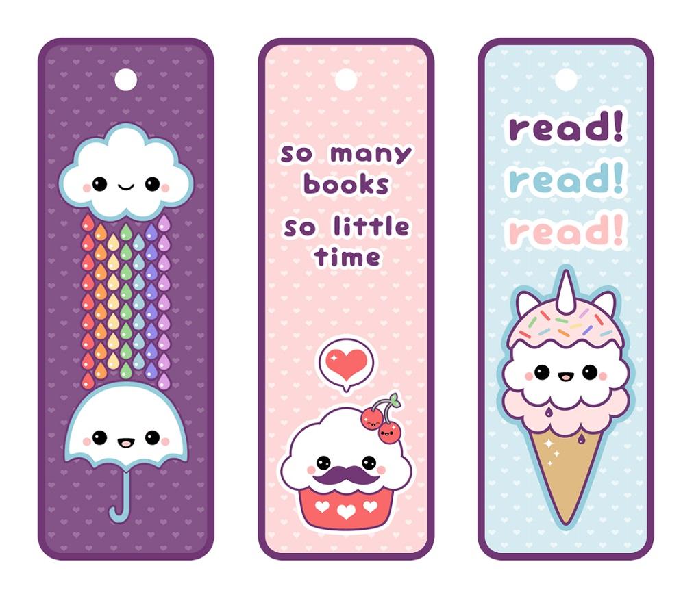 Cute Bookmark Template
