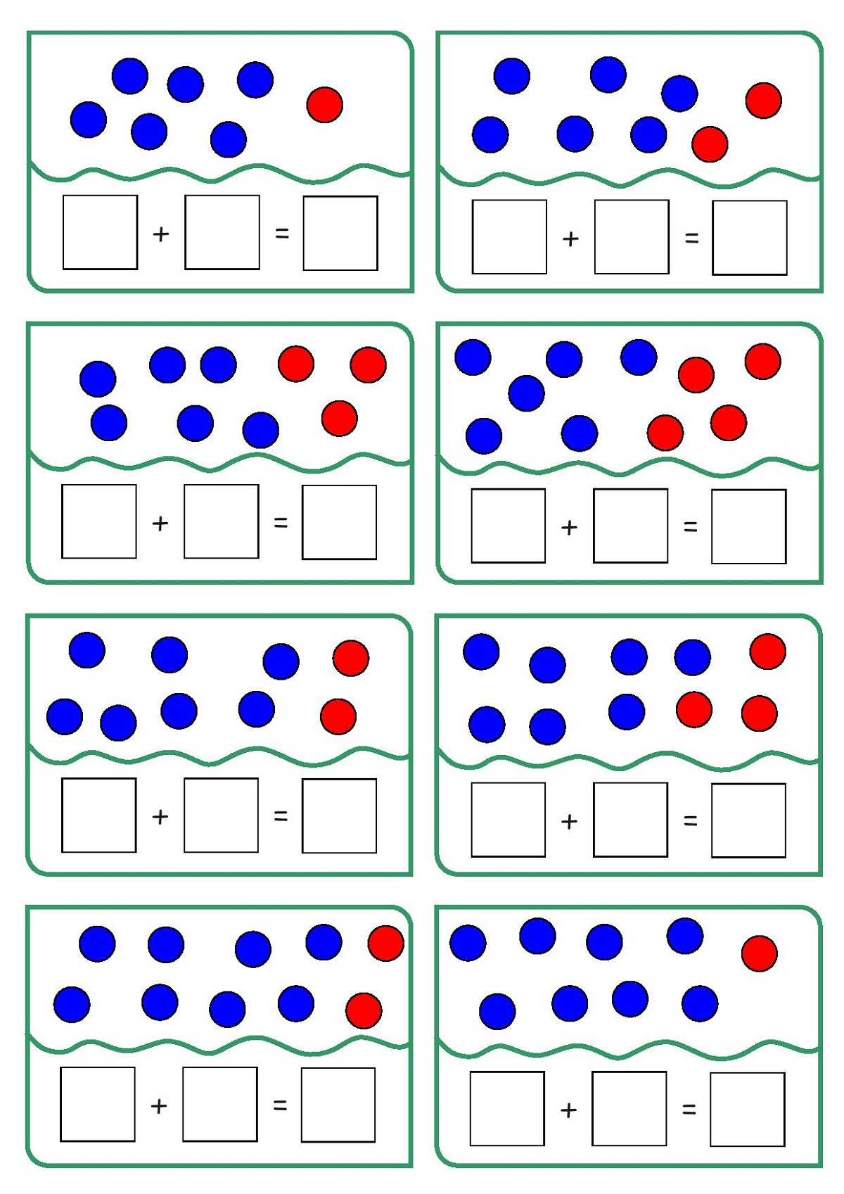 Fun Addition Worksheets With Pictures