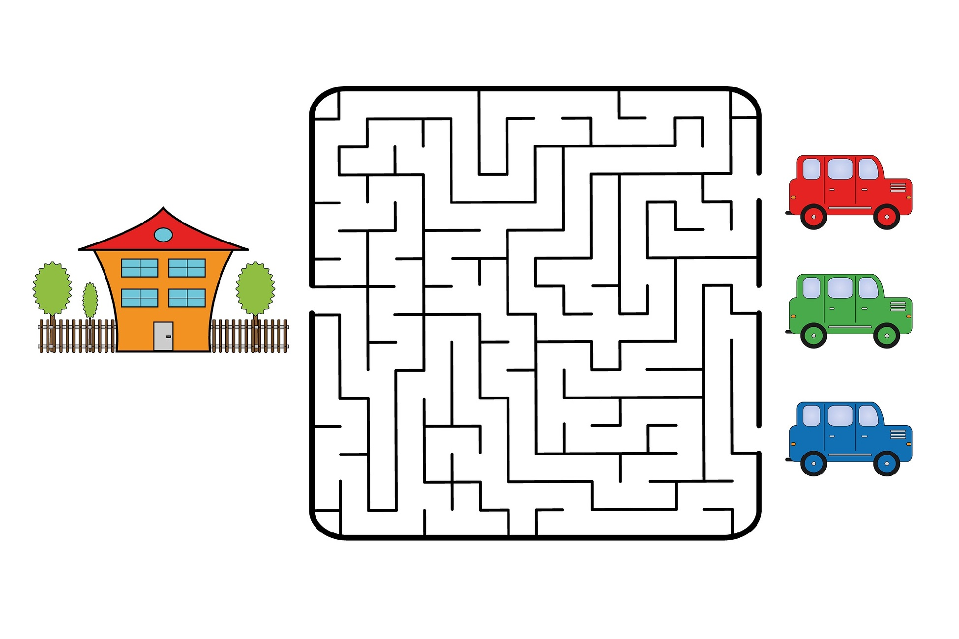 Fun Mazes for Children