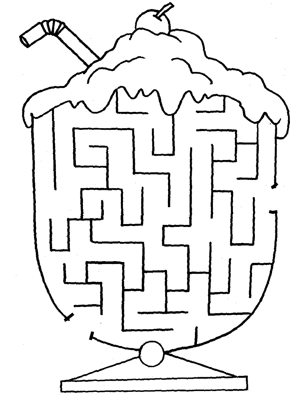 Mazes for Children Worksheets