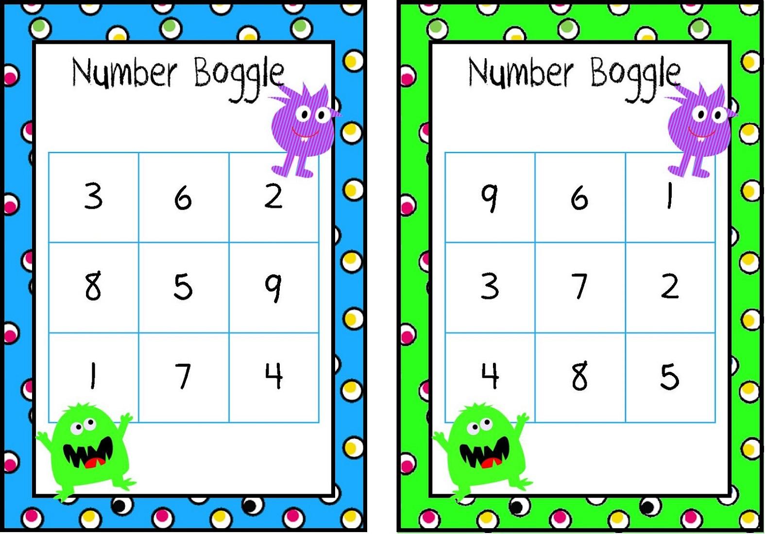 Number Boggle for Kids