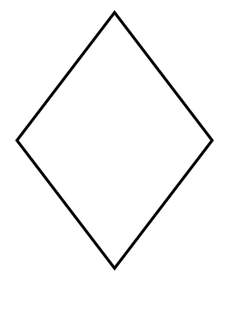 Pictures Of Rhombus Shapes Diamond