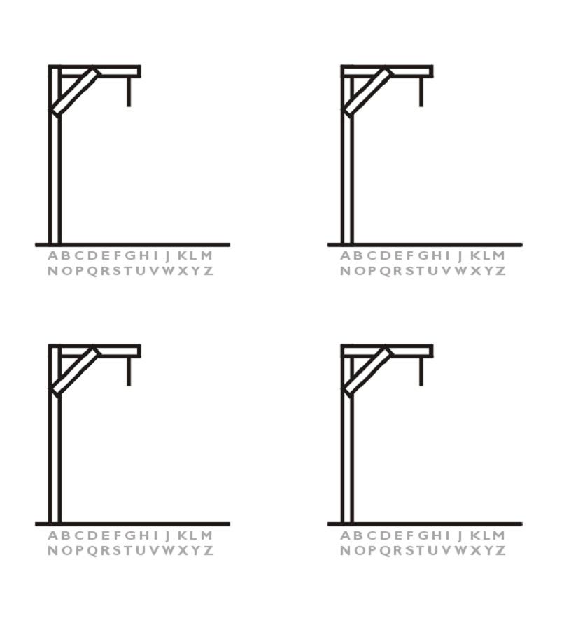 Printable Hangman Word Game