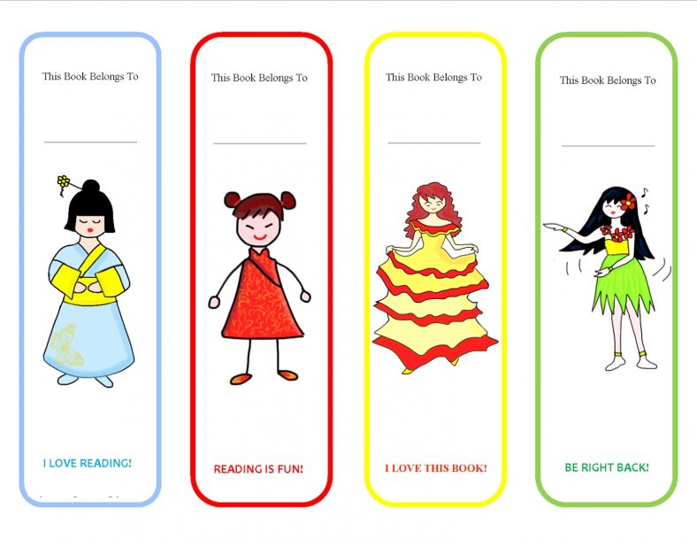 Cute Bookmarks Free