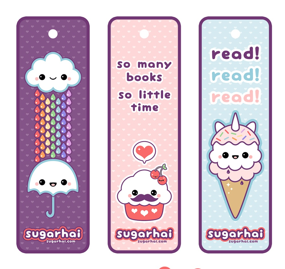 Cute Bookmarks Kawaii