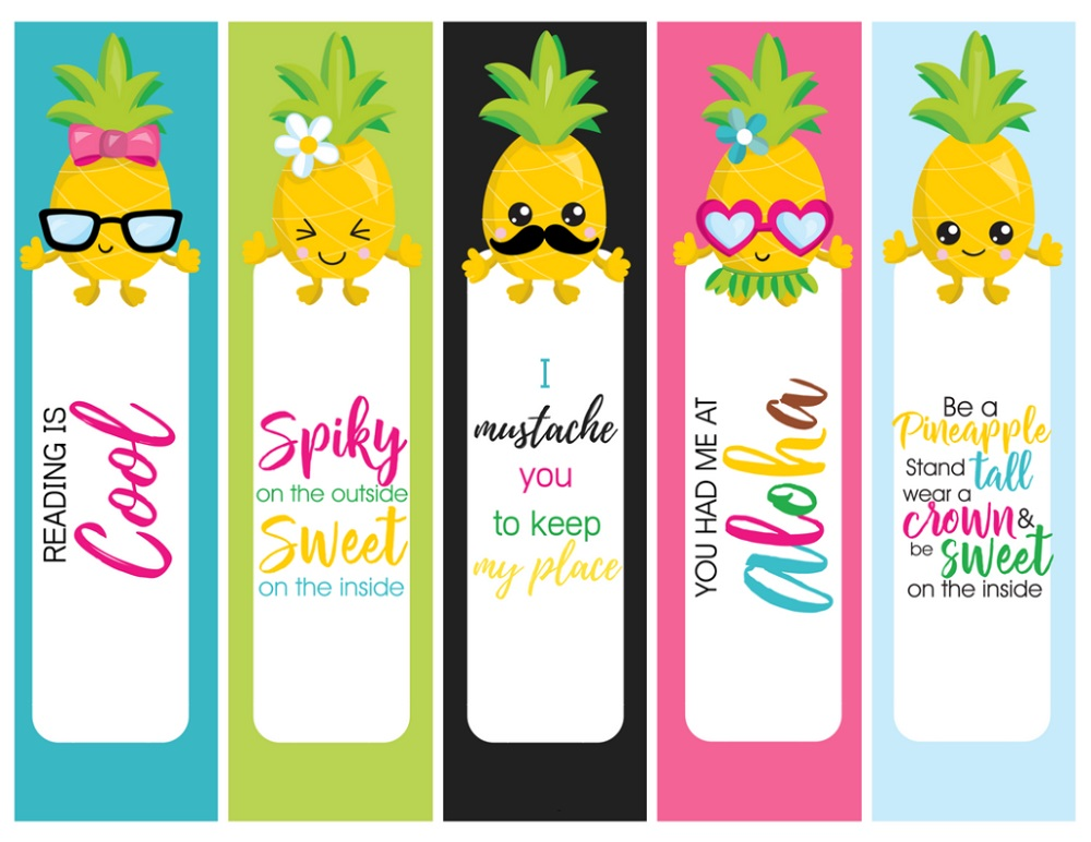 Cute Bookmarks Set