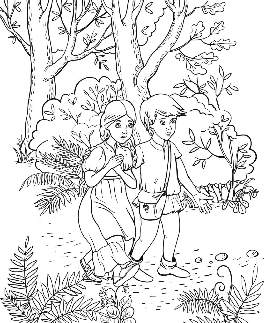 Hansel and Gretel Activities for Preschool