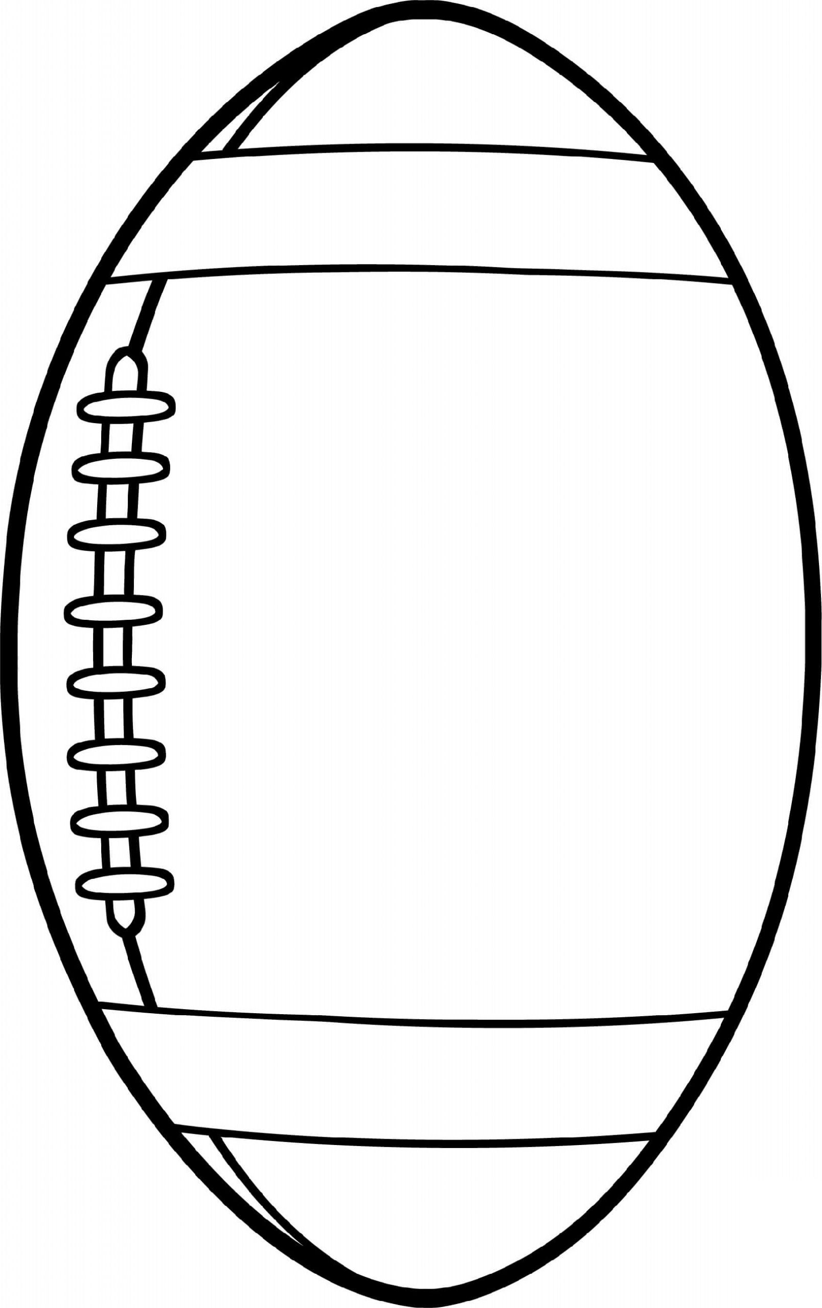 Ball Football Coloring Pages