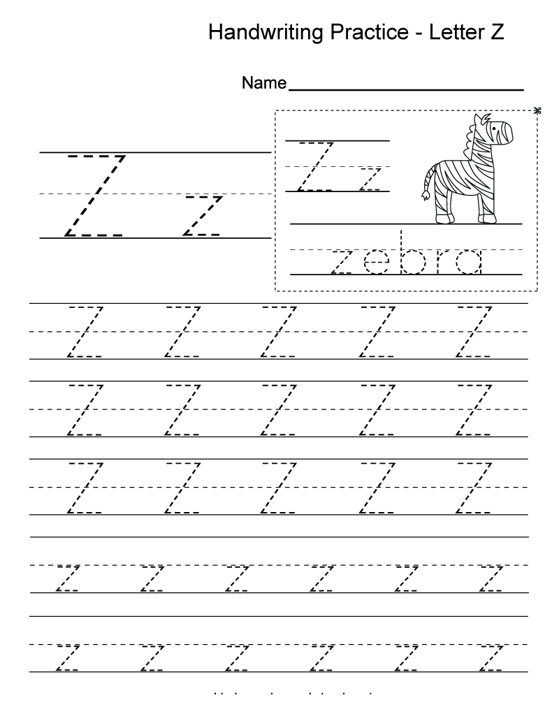 letter z worksheets alphabet 101 activity. Black Bedroom Furniture Sets. Home Design Ideas
