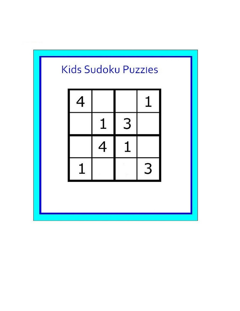 Soduko For Kids Puzzles