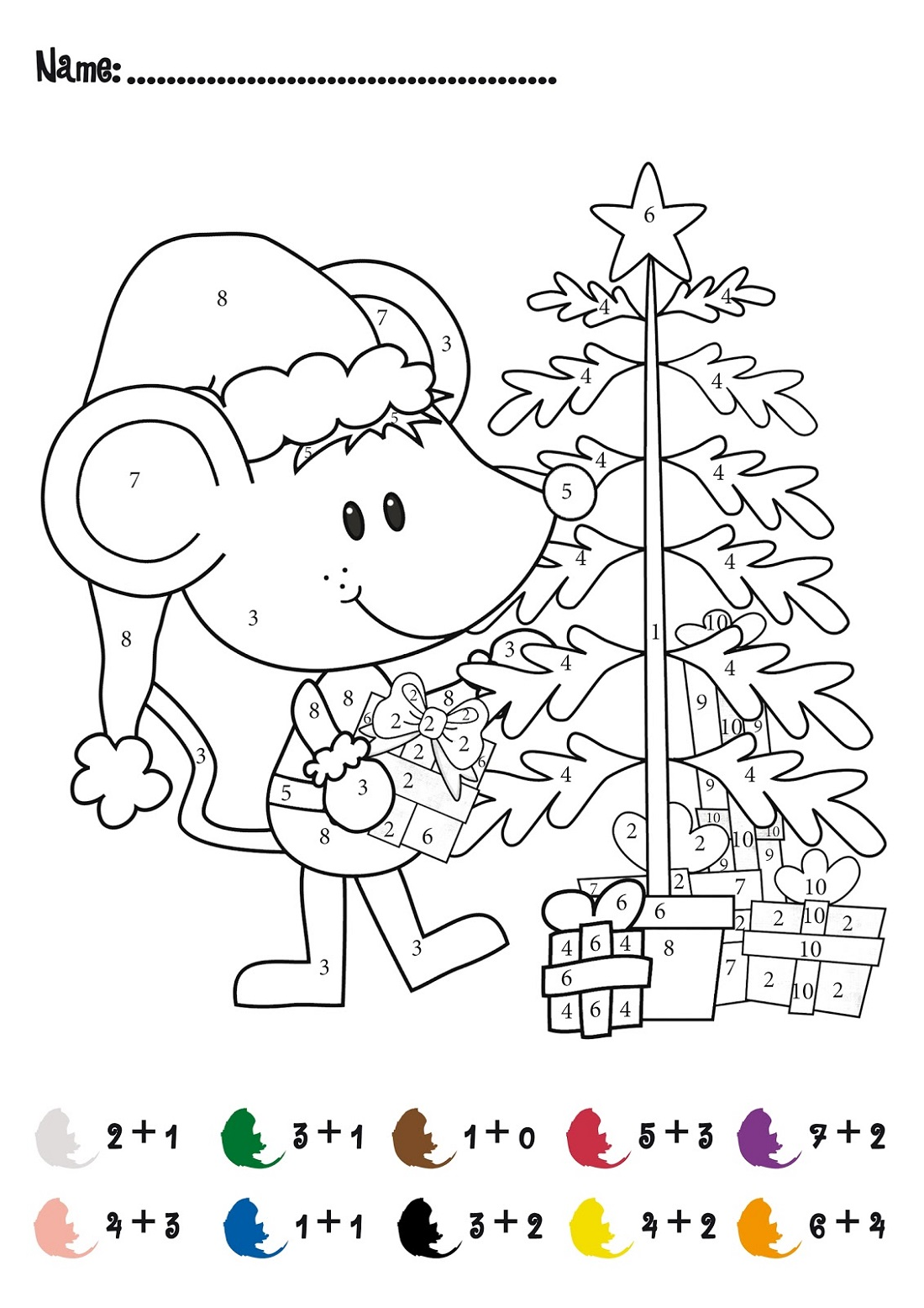 Christmas Fun Activity Sheets