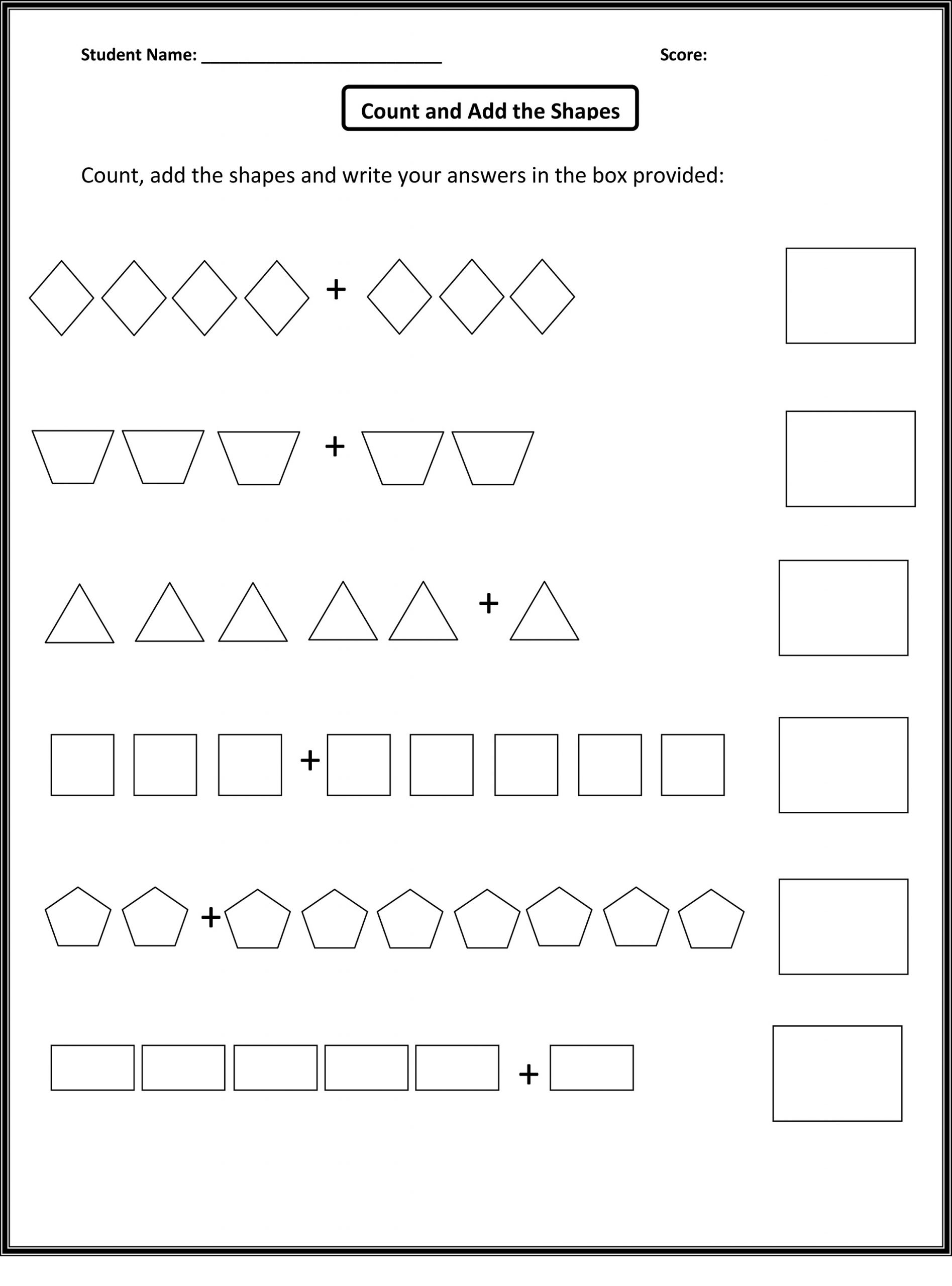 Count Numbers and Shapes