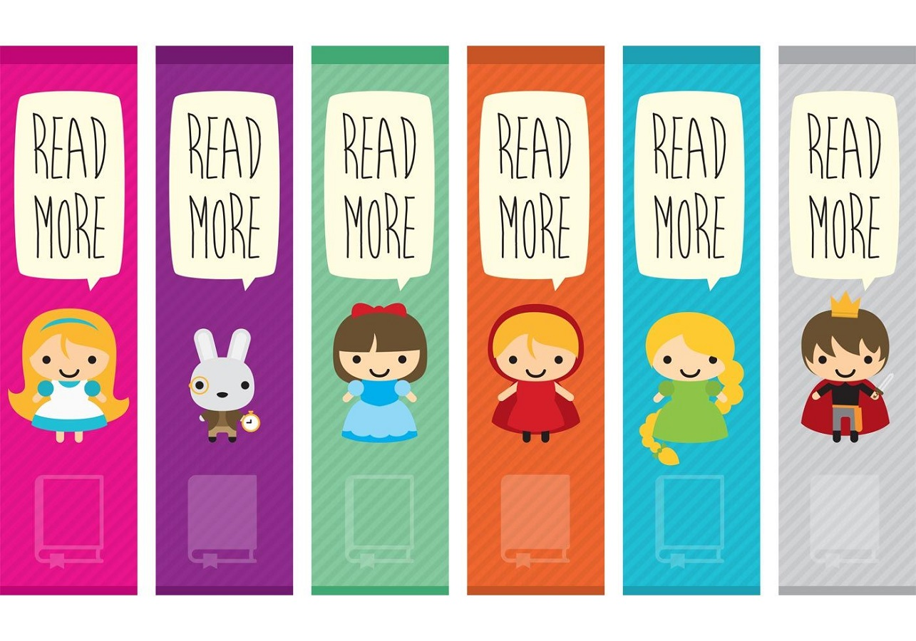 Cute Printable Bookmarks For Kids