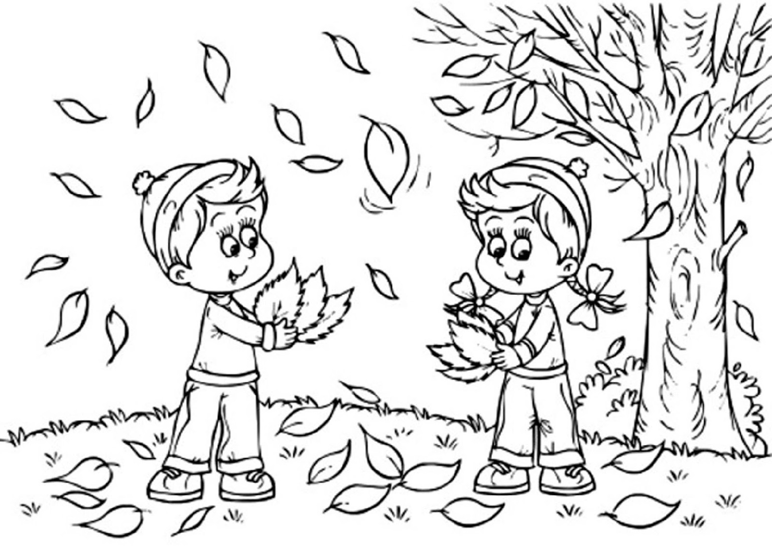 Fall Coloring Activities