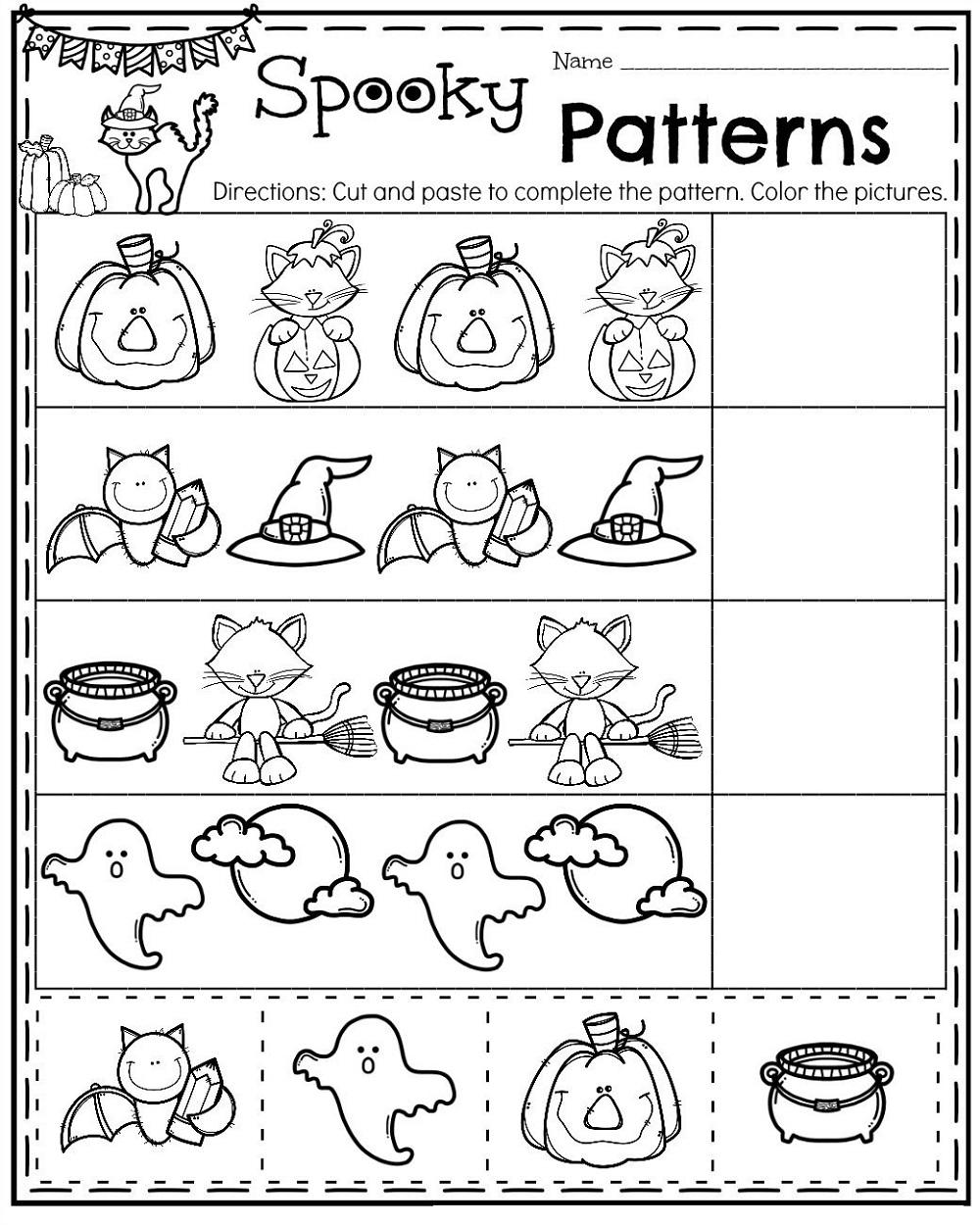 Free Preschool Printables Patterns