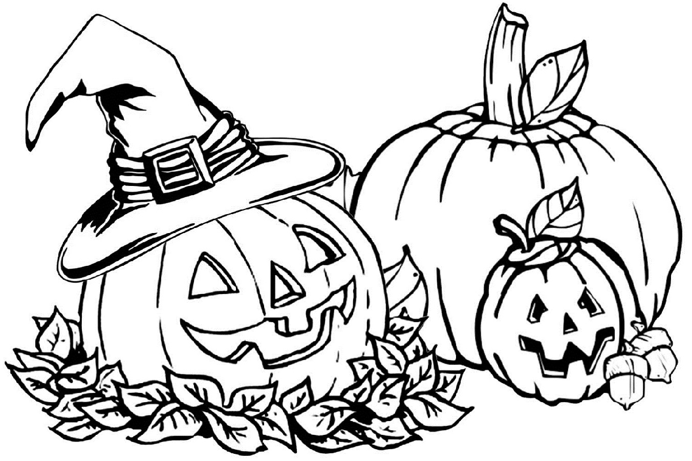 Fun Fall Coloring Sheets