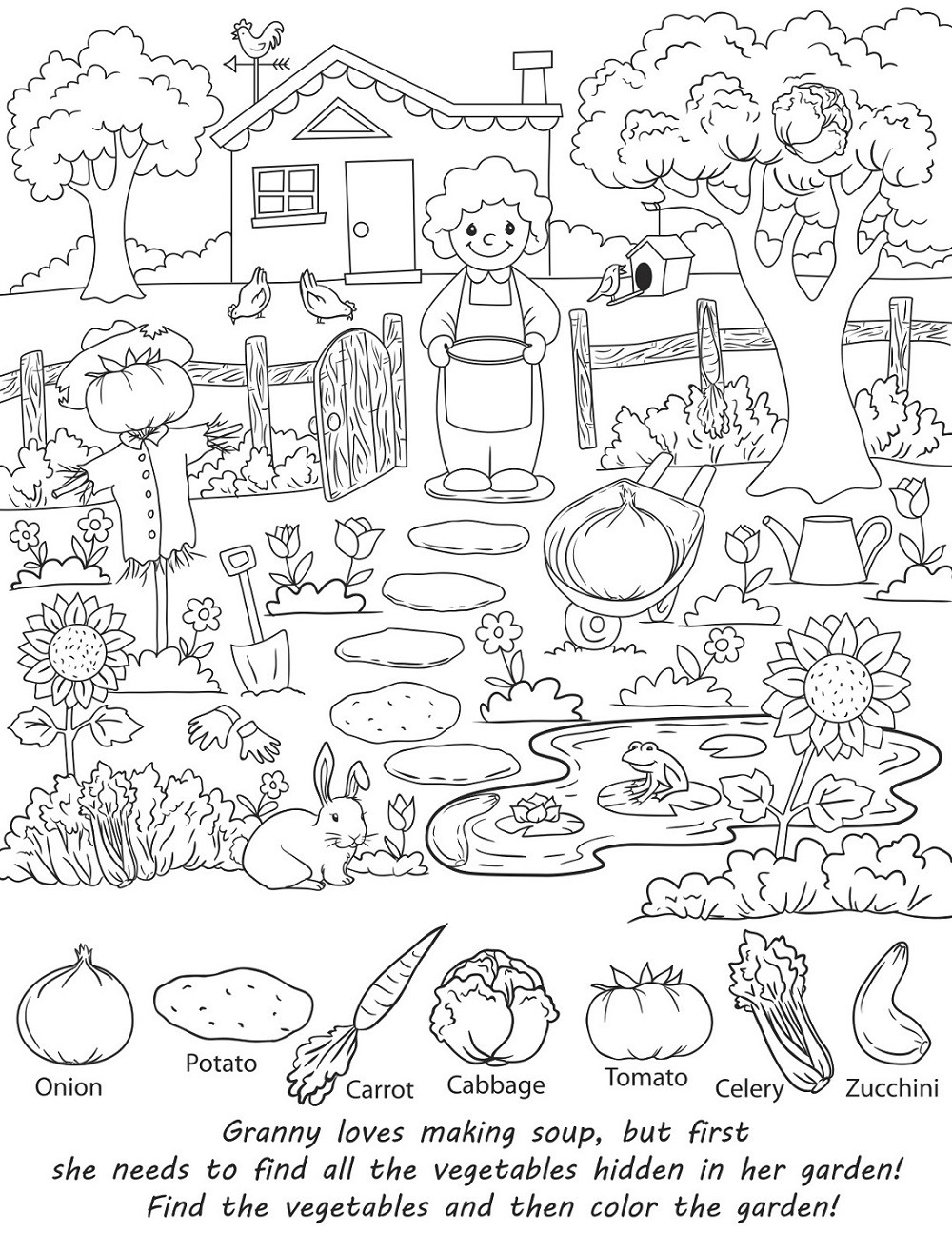 Hidden Picture Fun Activity Sheets