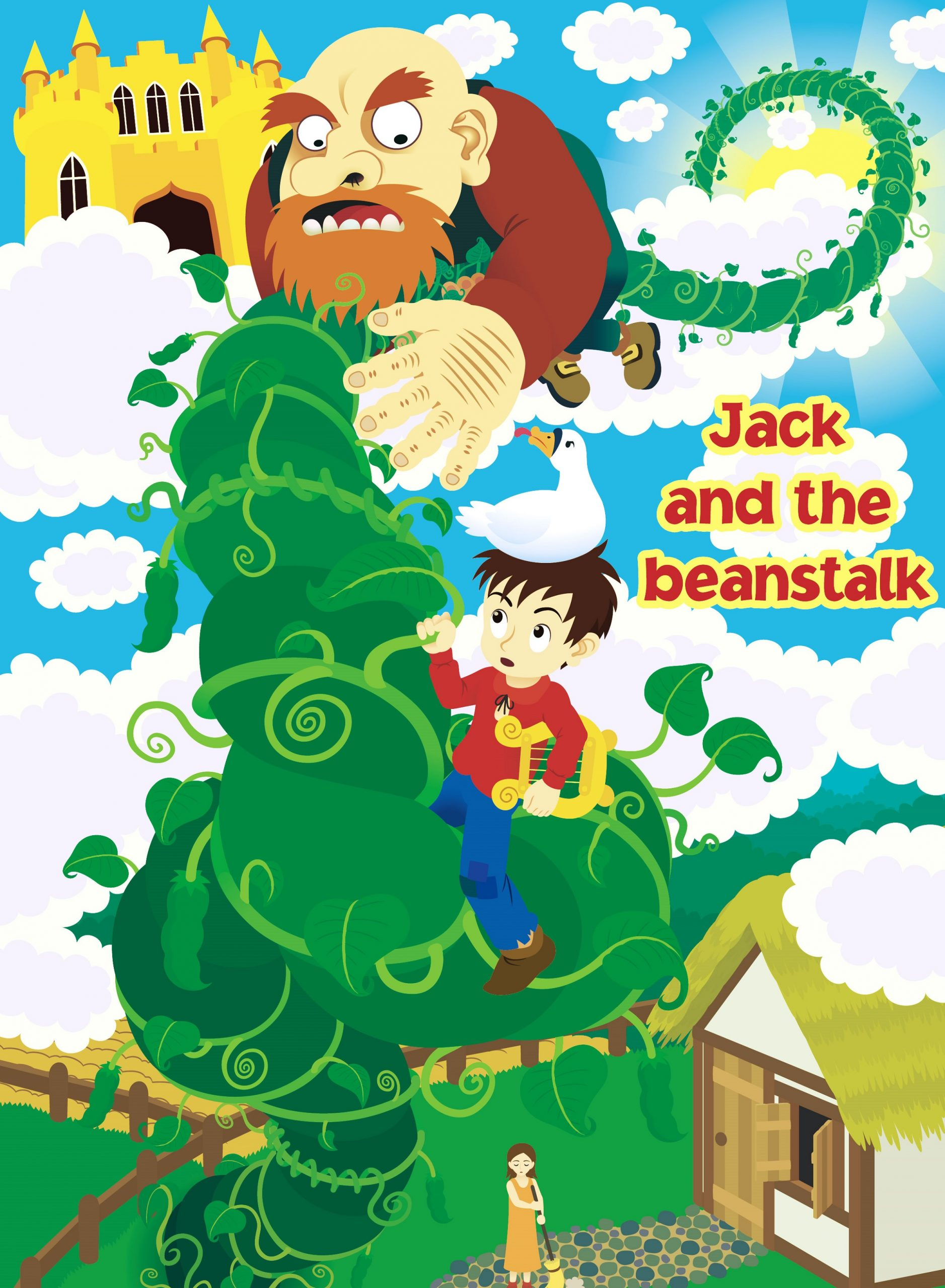 Pictures Of Jack And The Beanstalk Story