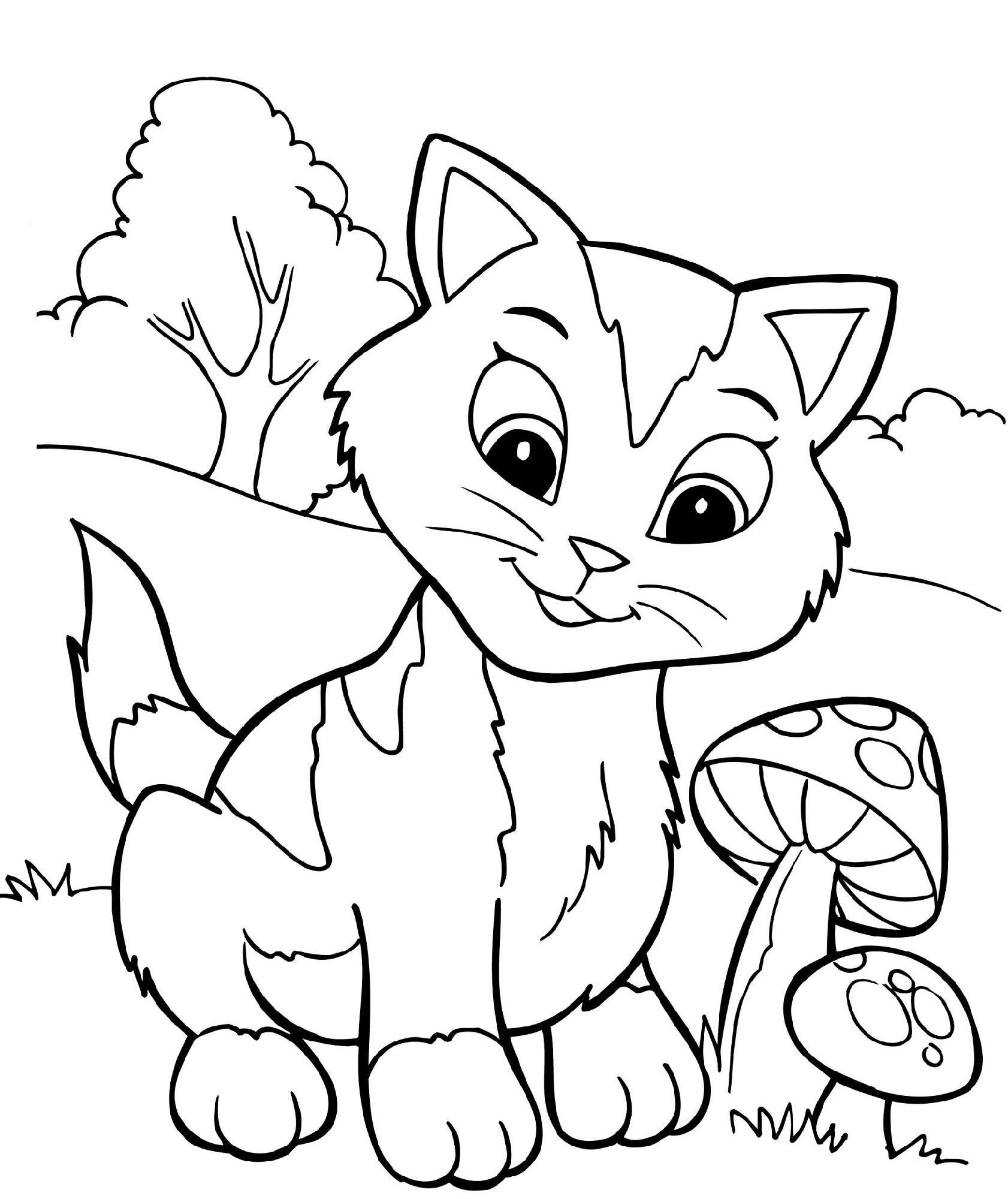 Free Fun Worksheets Coloring
