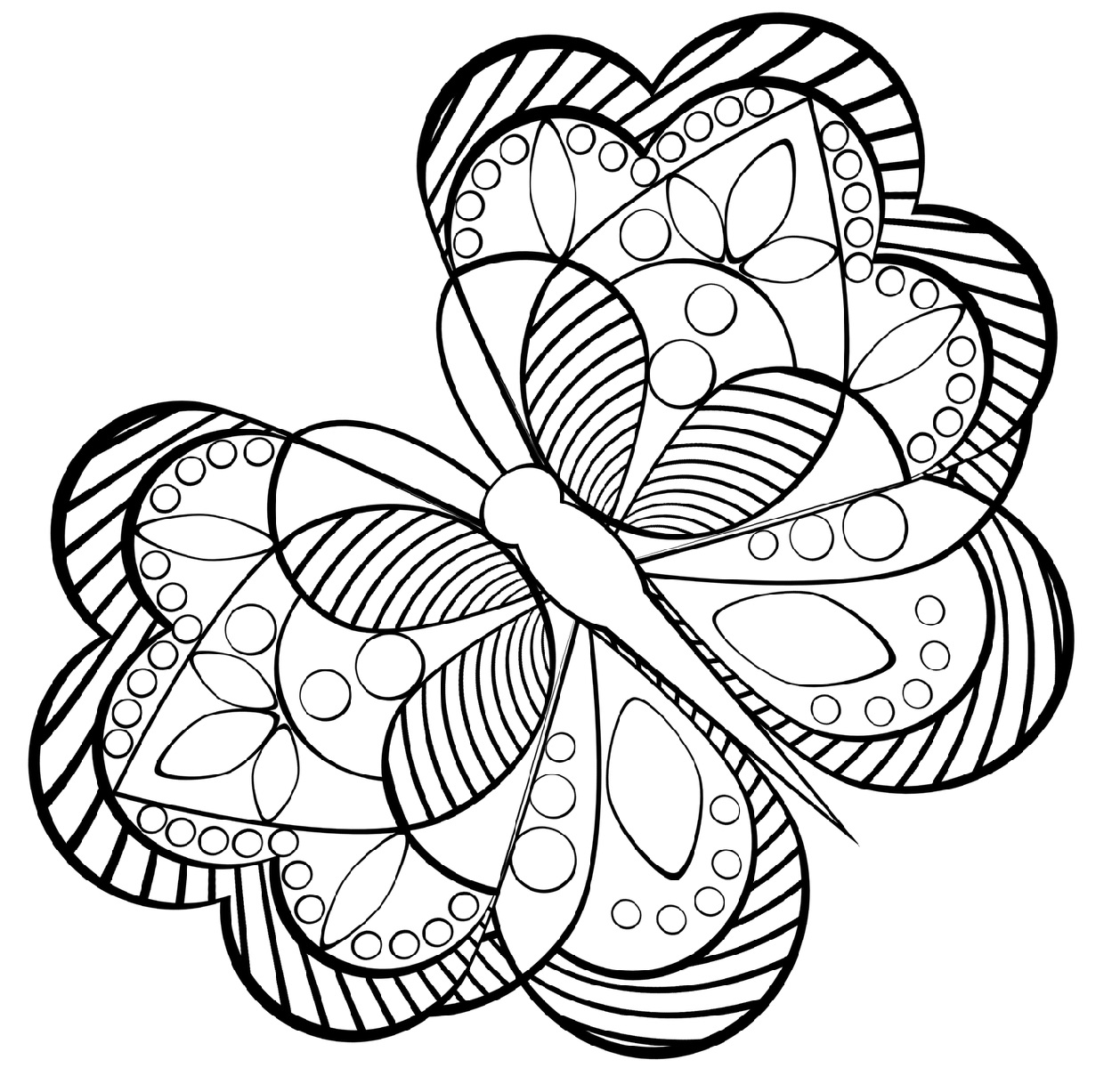 Spring Coloring Pictures for Adults