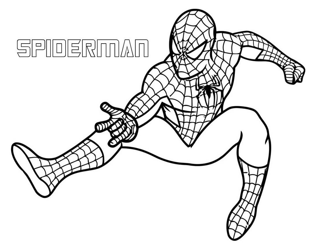Free Coloring Superhero