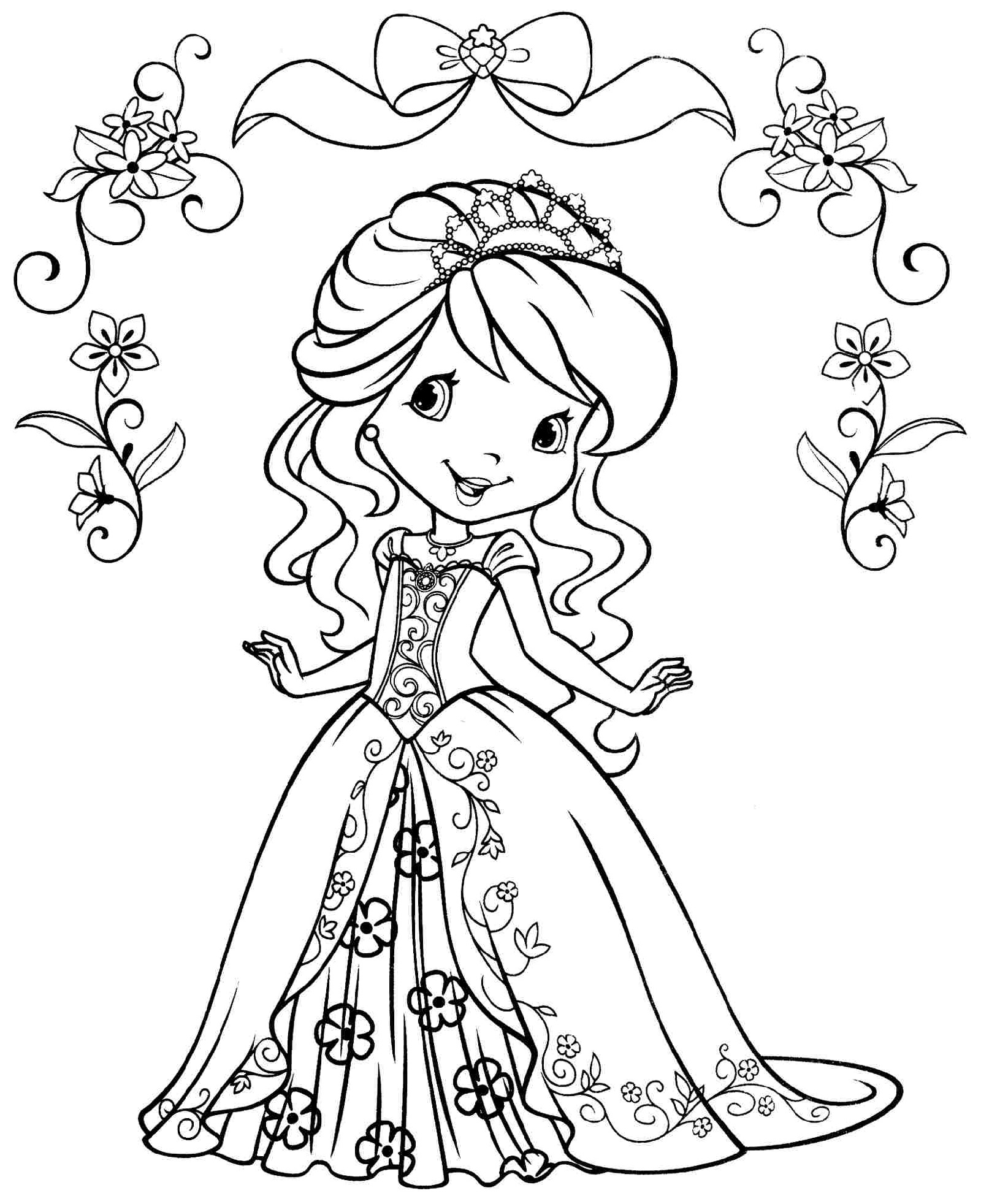 Free Coloring for Girls