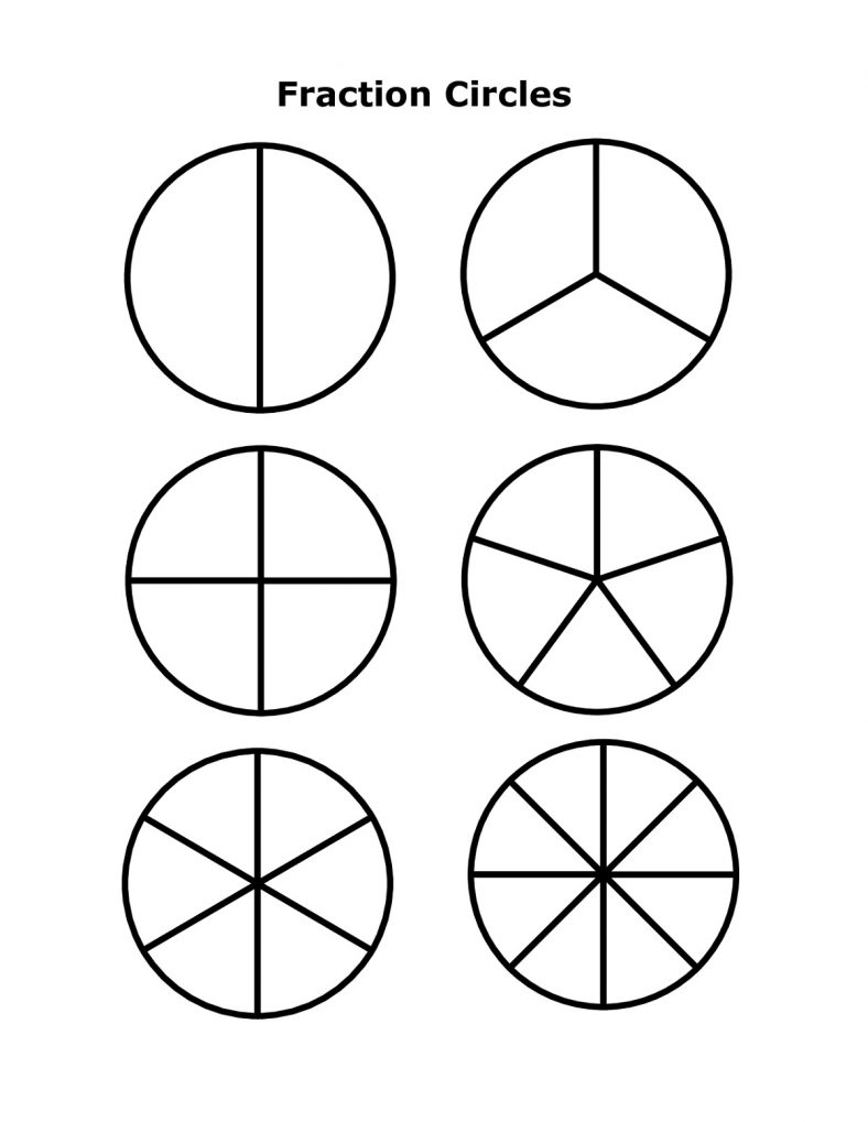 Free Percent Circle Template