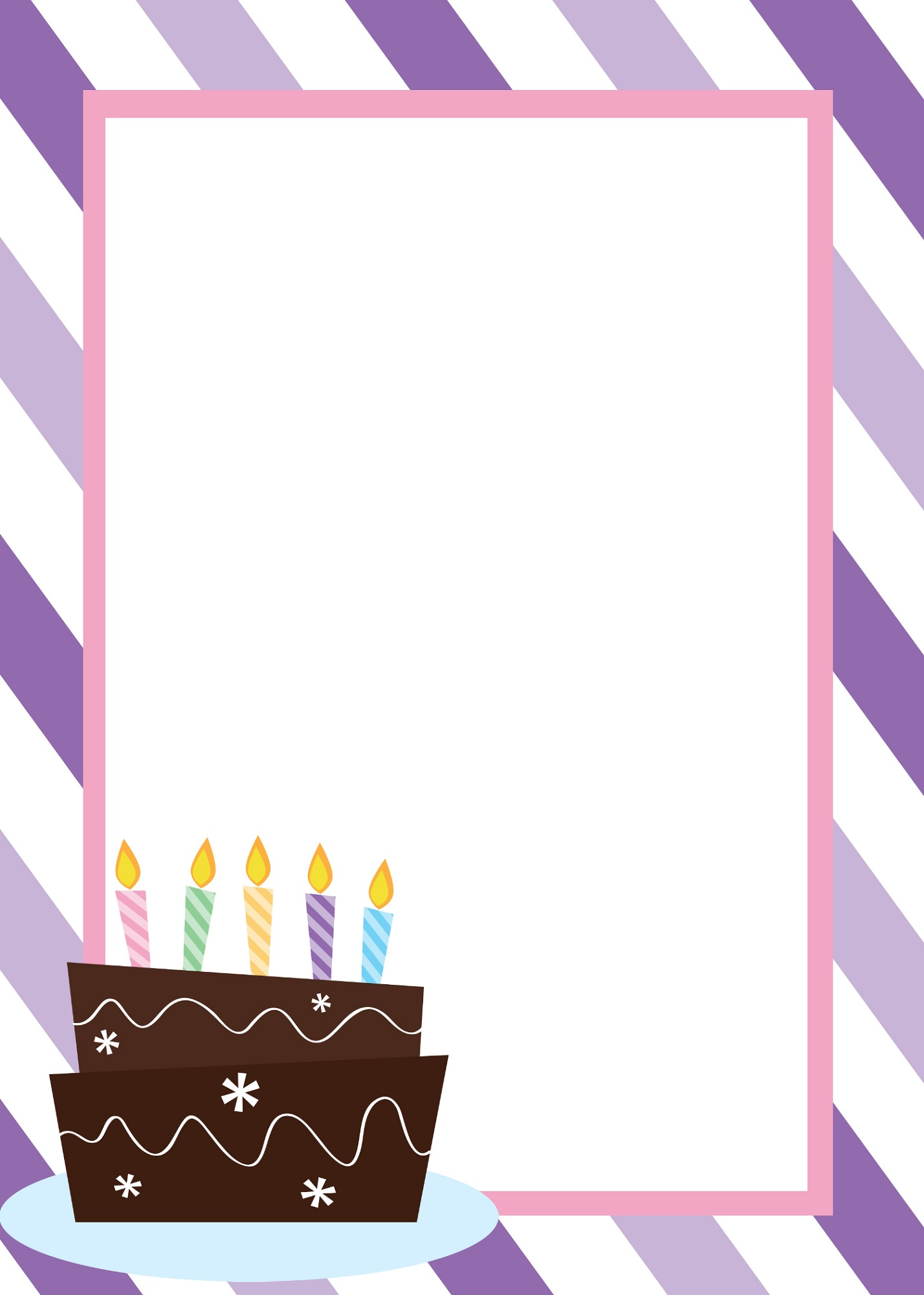 Free Printable Templates Birthday Invitation