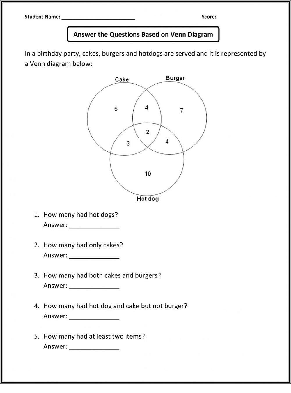 Math Fun Kids Worksheets