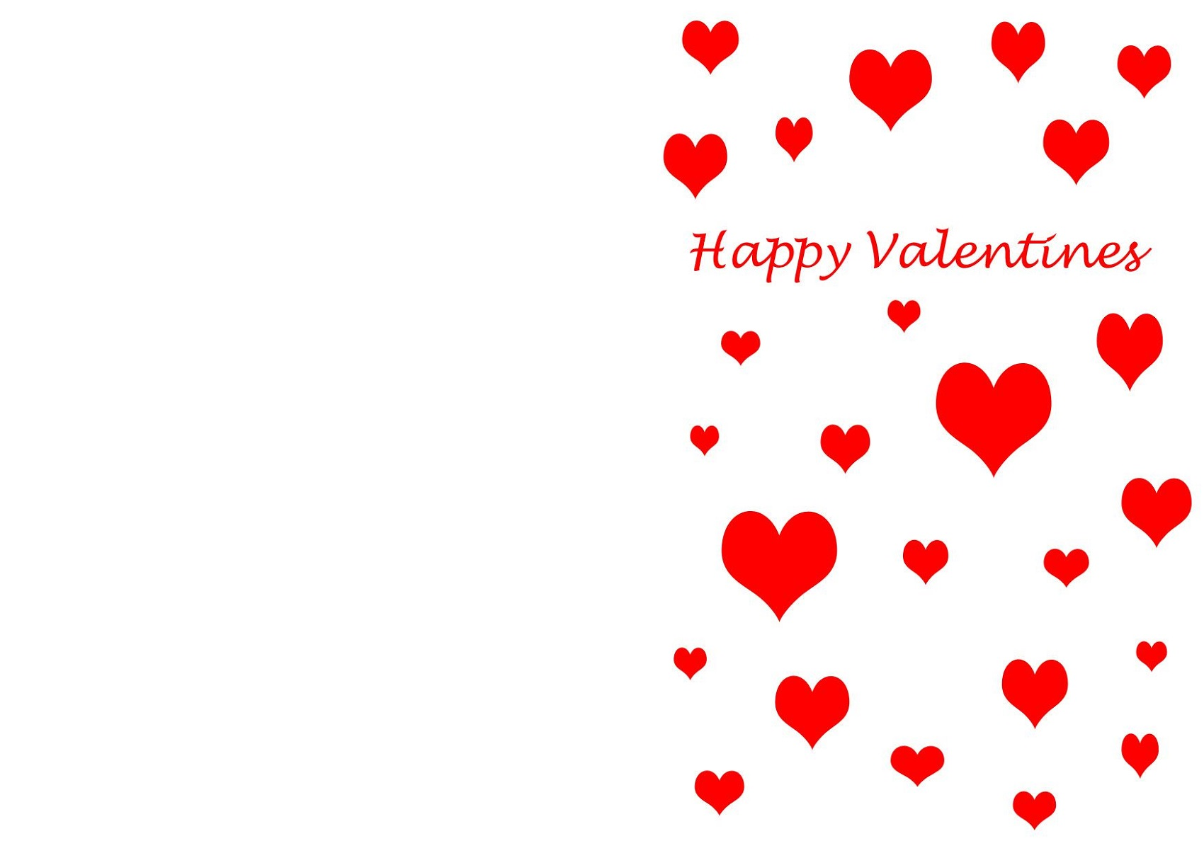 Valentine Card Free Printable Templates