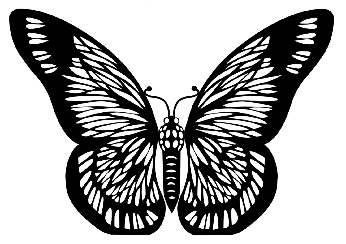 Butterfly Printable Stencils