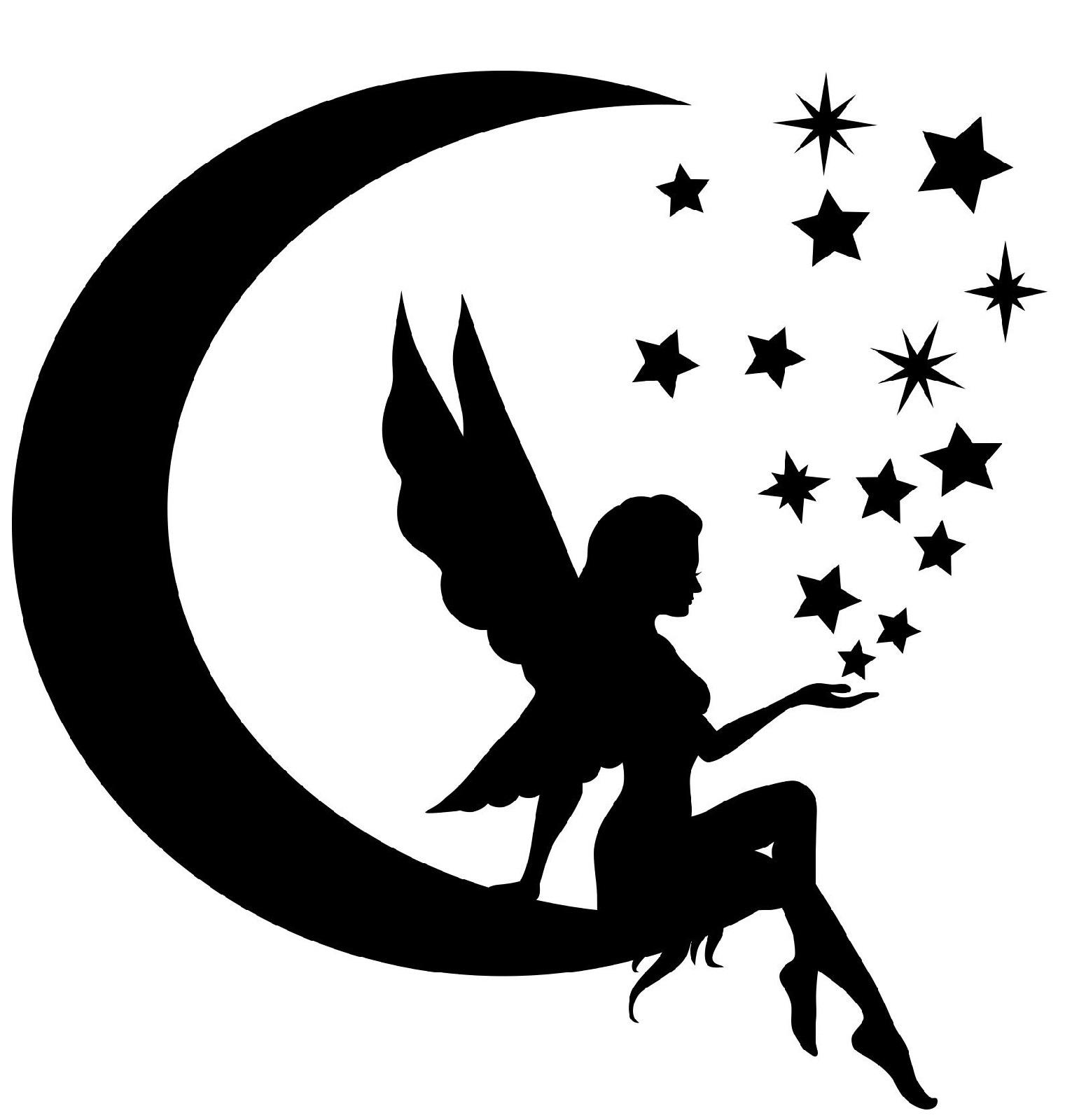 Fairy Printable Stencils