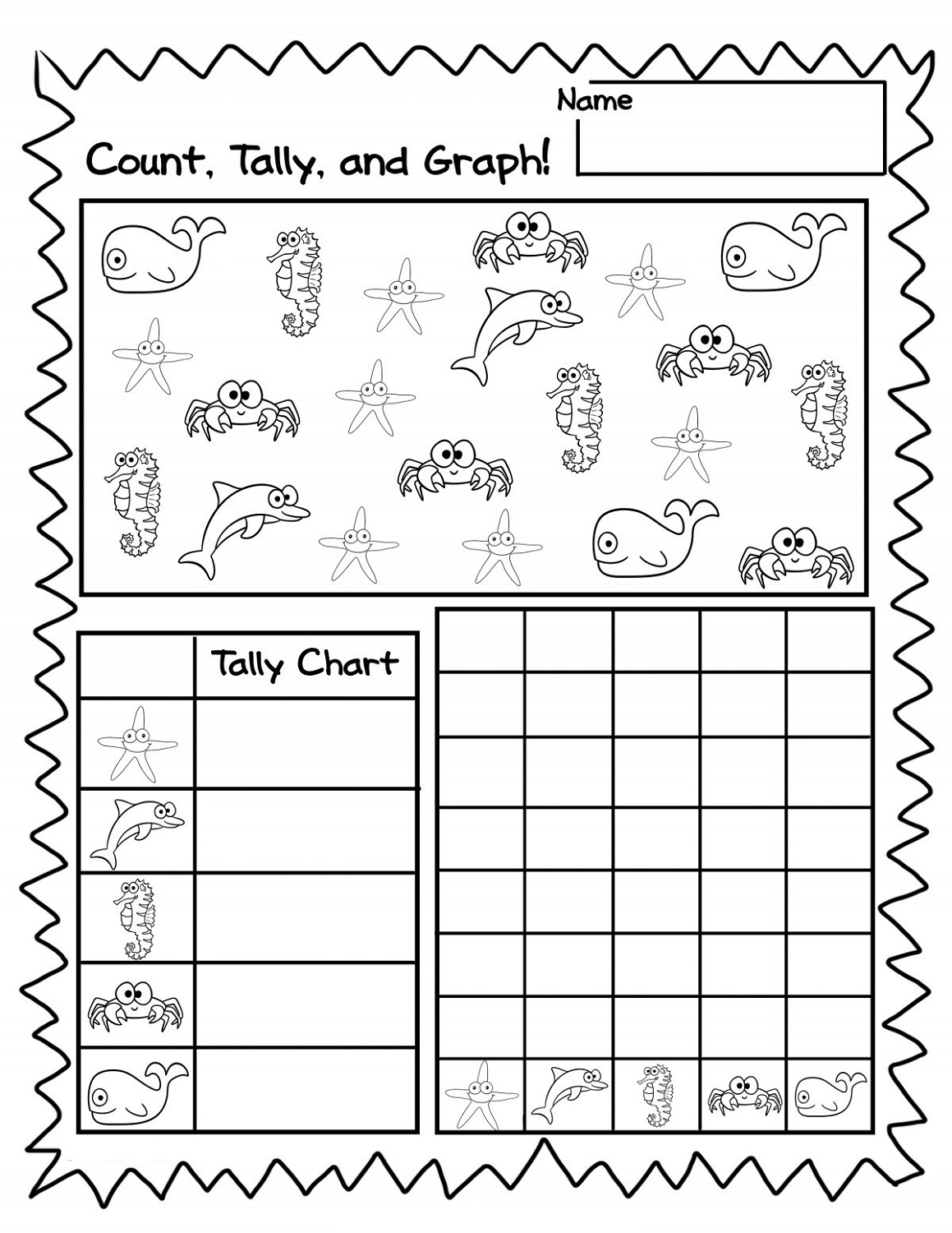 Fun Count Printable Math Games