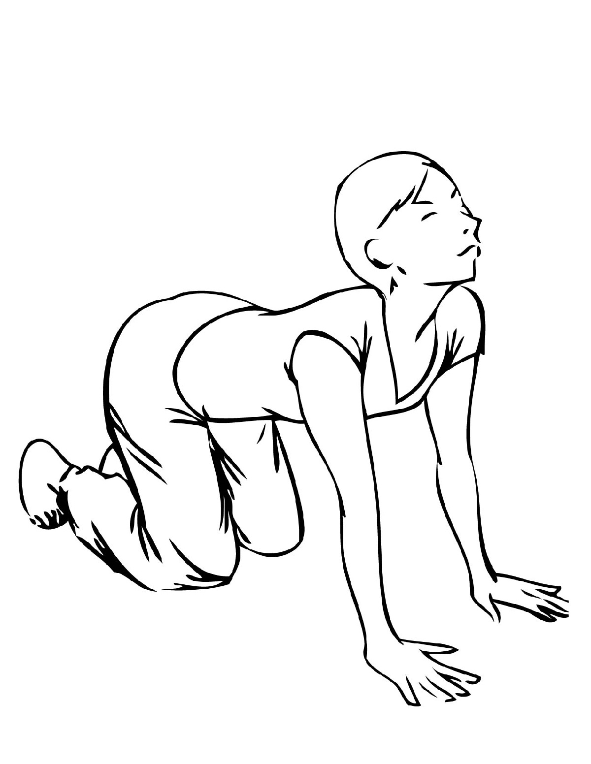 Yoga Coloring Pages Poses