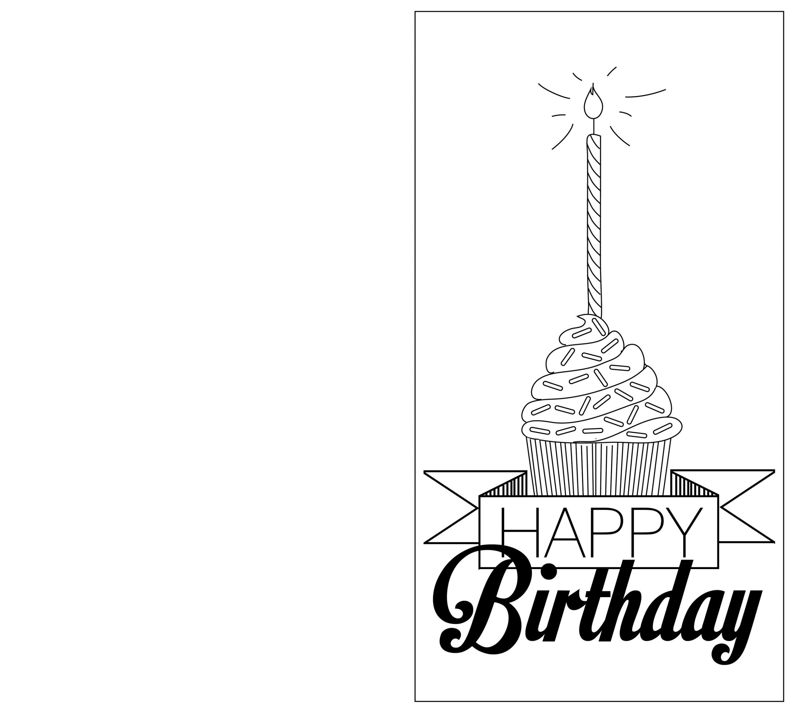 Birthday Card Free Printables