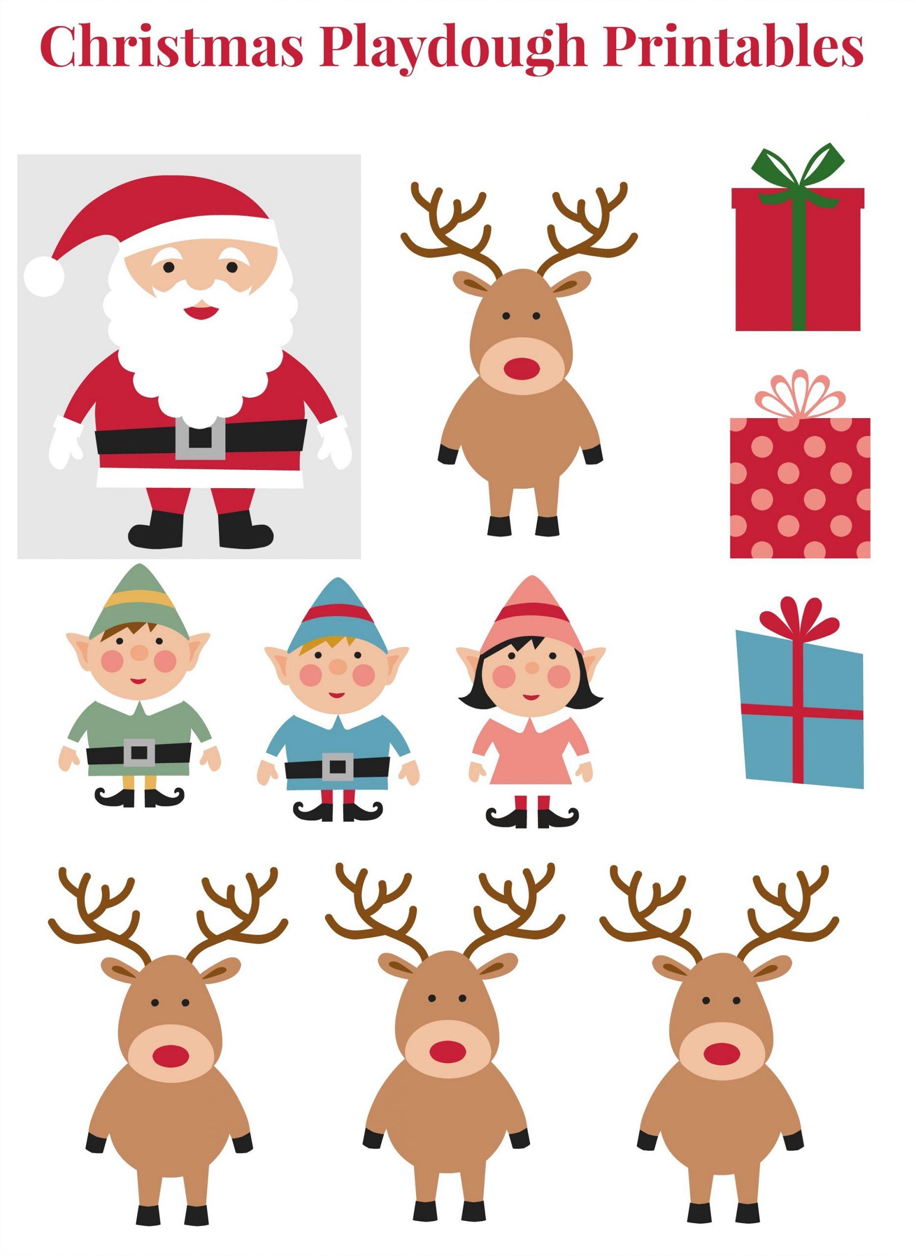 Christmas Pupet Kids Printables
