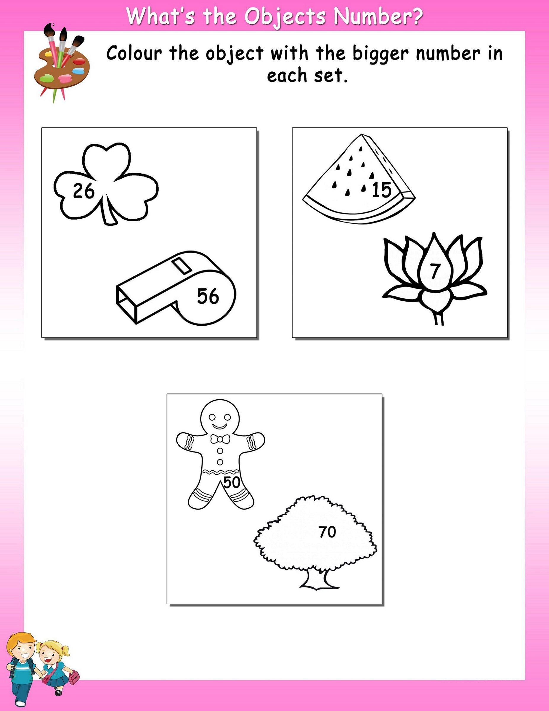 Fun Work Sheets for Kids
