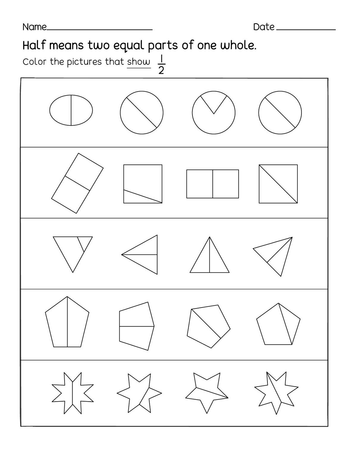 Printable Fun Work Sheets