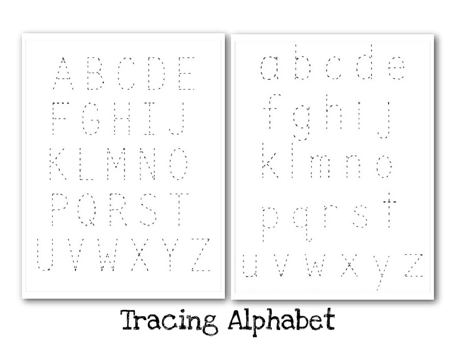 Printable Letters To Trace for Kids