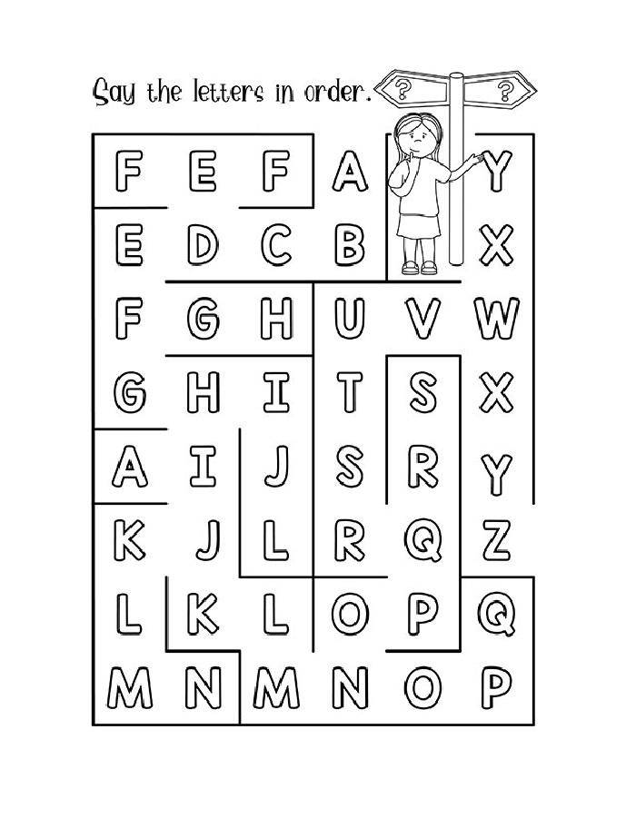 Fun Alphabet Worksheets Free