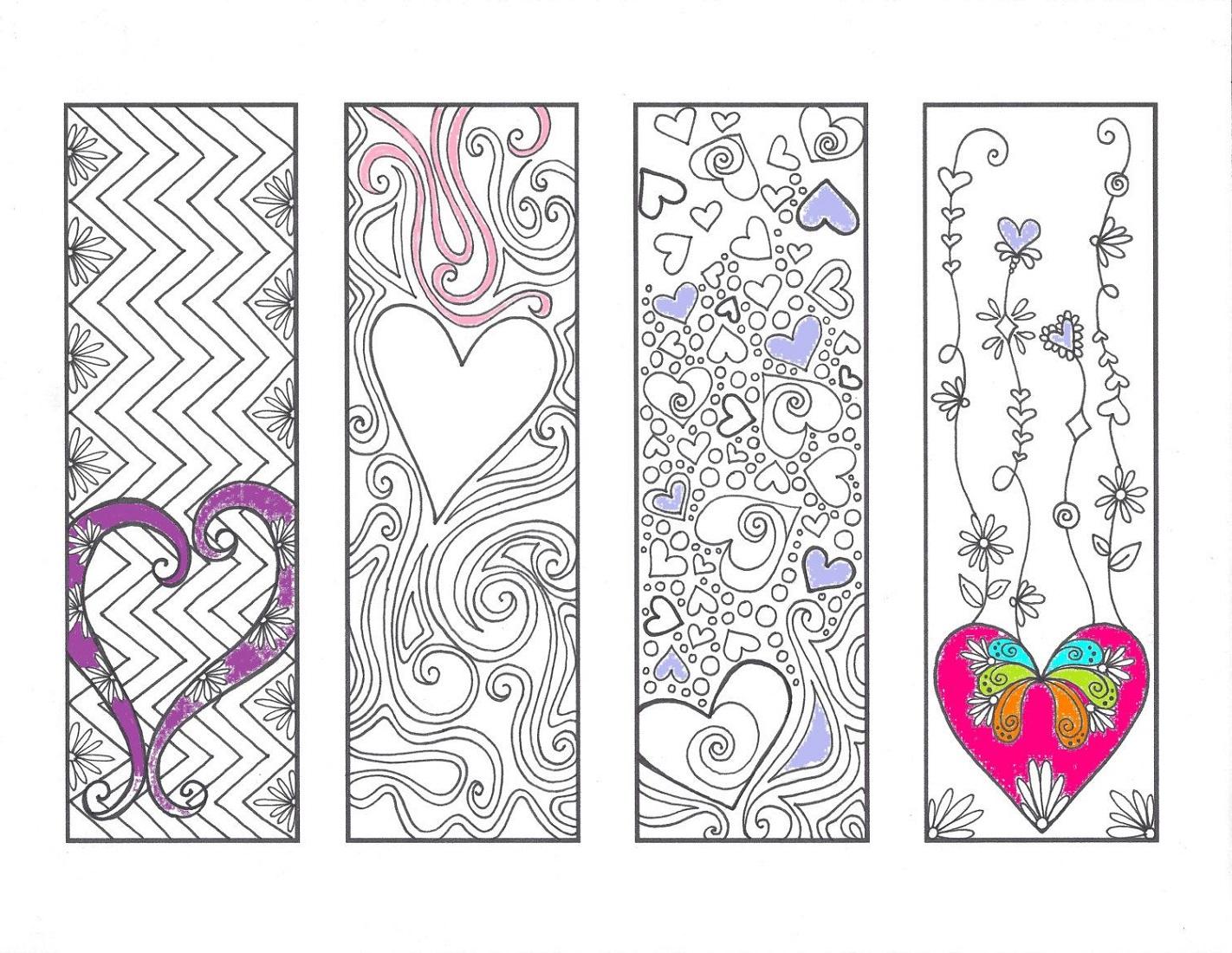 Love Printable Bookmarks