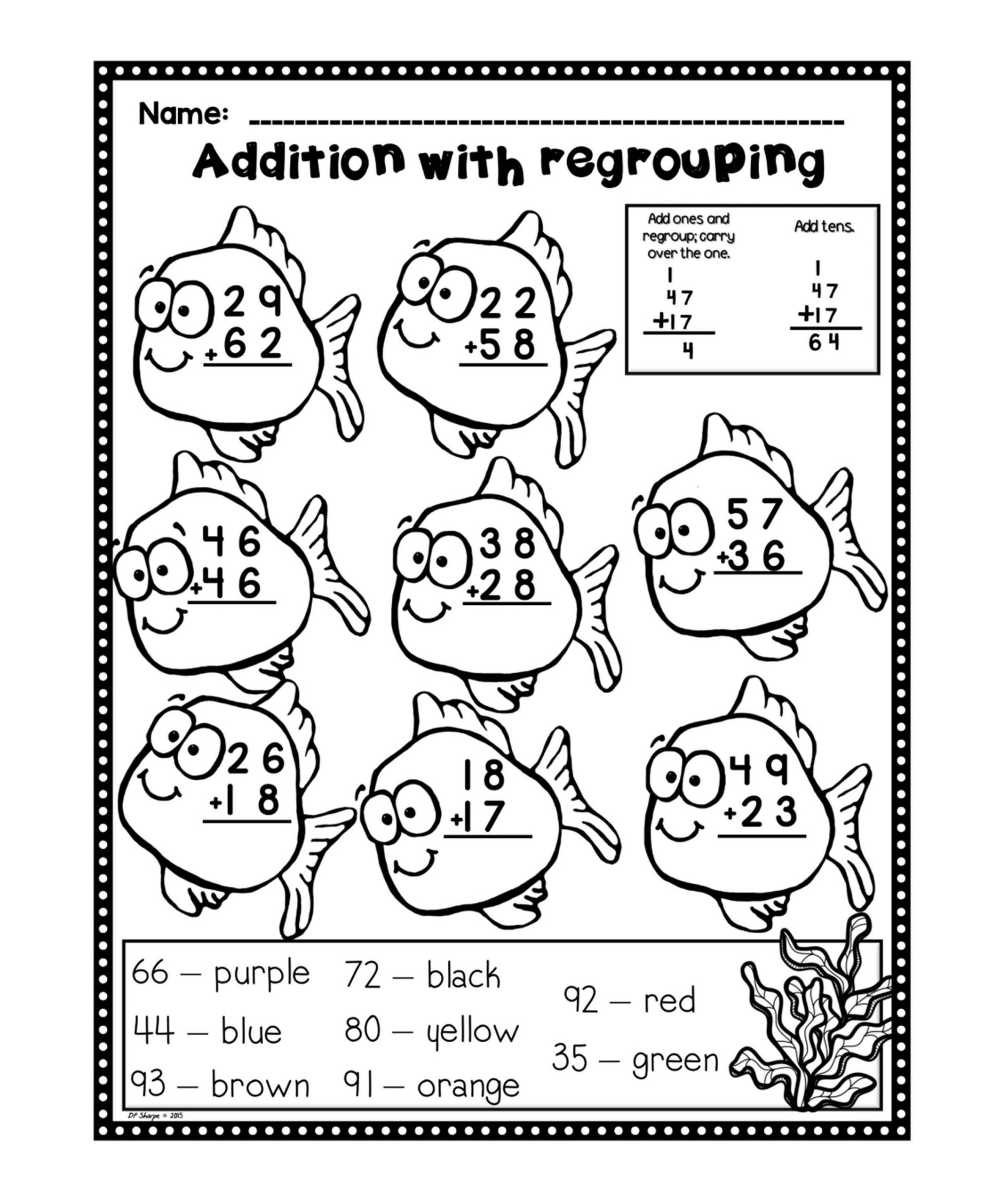 Addition Worksheets for Fun