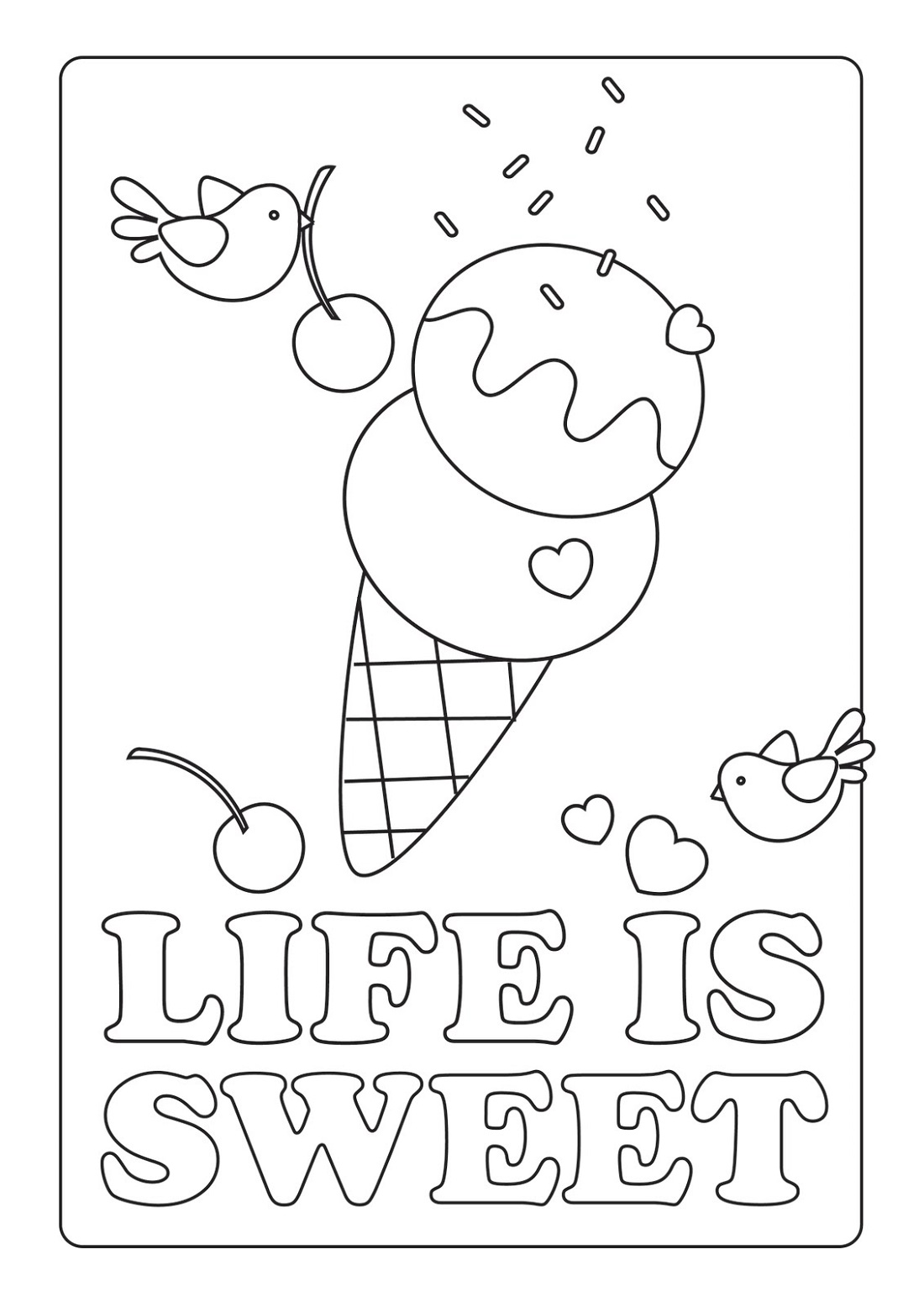 Coloring Activity Pages For Kids