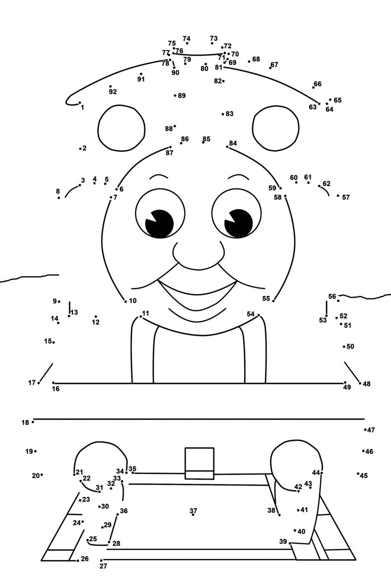 Dot To Dot Printables for Kids