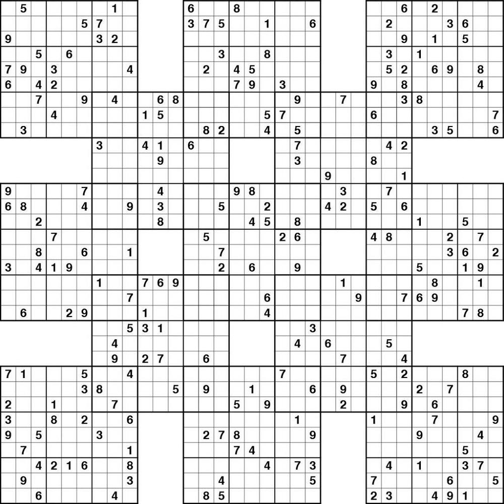 Hard Sudoku High Fives