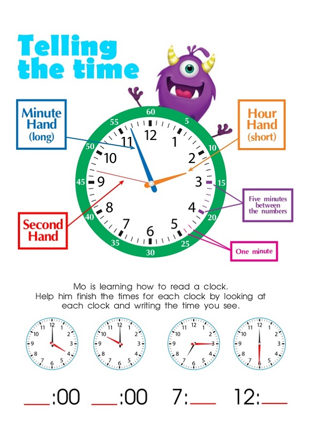 Elapsed Time Worksheets Free for Kids