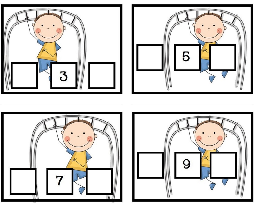Free Before And After Number Worksheets