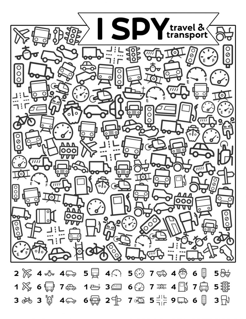Free Hidden Picture Math Worksheets