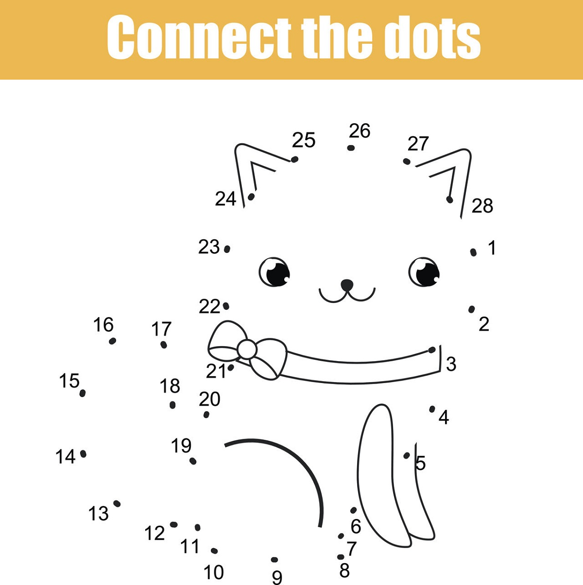 Games Connect The Dots For Kids